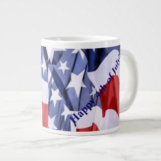 American Flag Giant Coffee Mug