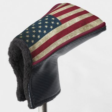 American Flag Golf Head Cover