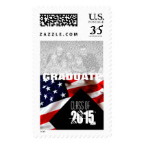American Flag Graduation Class of 2016 Postage