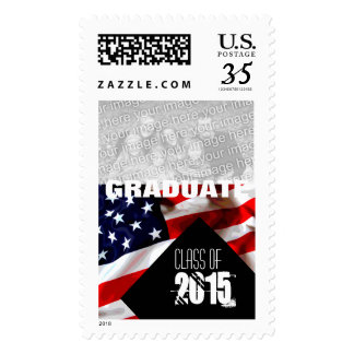 American Flag Graduation Class of 2016 Postage