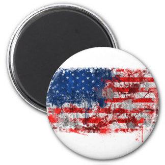 American FLag Graffiti Magnet