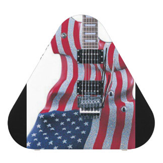 american flag guitar bluetooth speaker