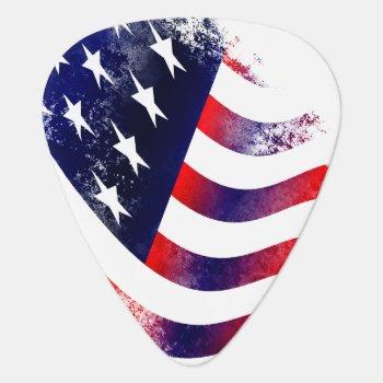 American Flag Guitar Picks by alise_art at Zazzle