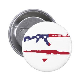 American Flag_Guns Button