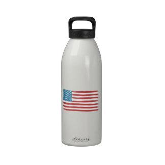 American Flag 'Handmade' Drinking Bottles