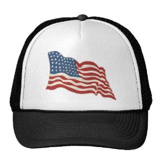 AMERICAN FLAG HAPPY 4TH OF JULY TRUCKER HAT