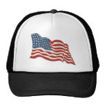 AMERICAN FLAG HAPPY 4TH OF JULY MESH HAT