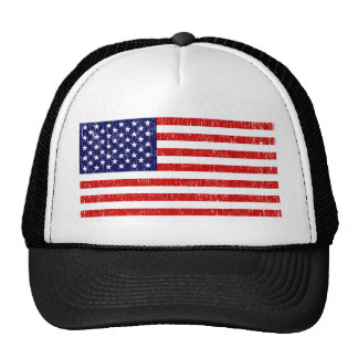 American Flag Trucker Hats
