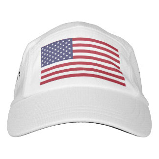 American flag headsweats hat