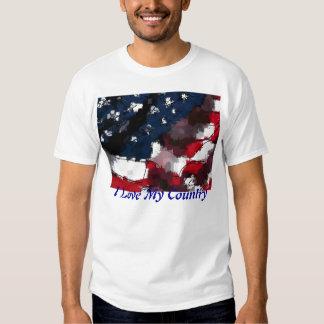 American Flag, I Love My Country Shirt