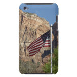 American Flag in Zion iPod Touch Case