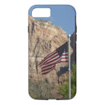 American Flag in Zion National Park I iPhone 7 Case