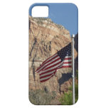 American Flag in Zion National Park I iPhone SE/5/5s Case