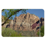 American Flag in Zion National Park I Magnet