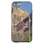 American Flag in Zion National Park I Tough iPhone 6 Case