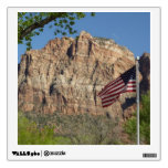 American Flag in Zion National Park I Wall Sticker