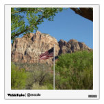 American Flag in Zion National Park II Wall Sticker