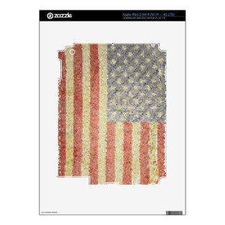 American flag iPad 3 skin