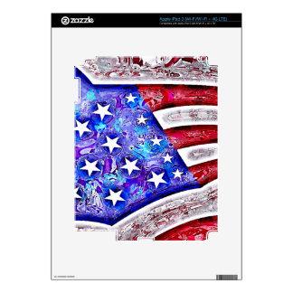 AMERICAN FLAG iPad Skin
