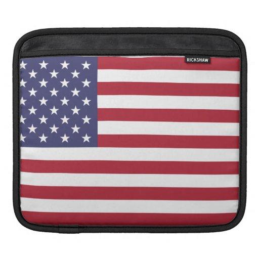 American Flag iPad Sleeves