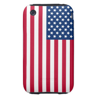 American Flag iPhone 3 Tough Case