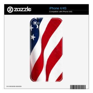 American Flag iphone 4/4S skin Skin For iPhone 4S