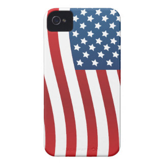 American Flag iPhone 4 Case-Mate Barely There iPhone 4 Cover