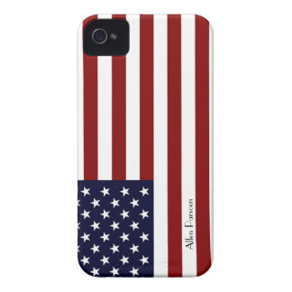 American Flag IPhone 4S Hard ID Case