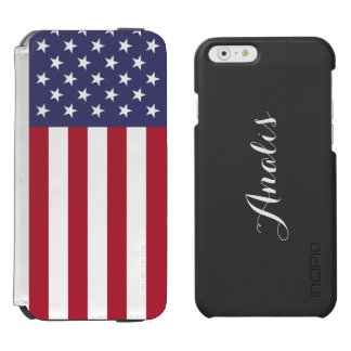 American Flag iPhone 6/6s Wallet Case