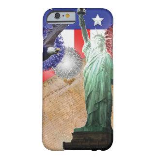 American Flag Iphone 6 case Liberty Fireworks
