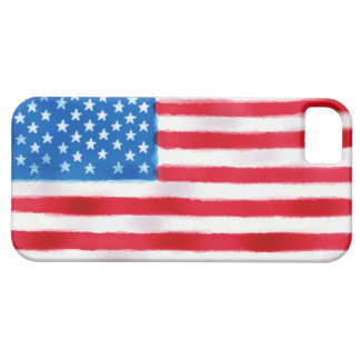 American Flag iPhone Case (hand-drawn)