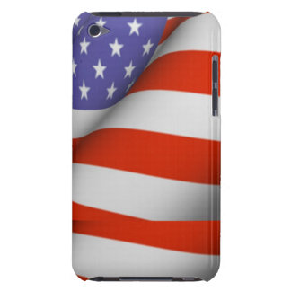 American flag iPod touch case