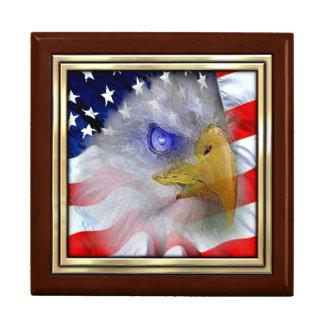 American Flag Jewelry Box
