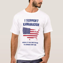 AMERICAN FLAG Judge Brett Kavanaugh SCOTUS T-Shirt