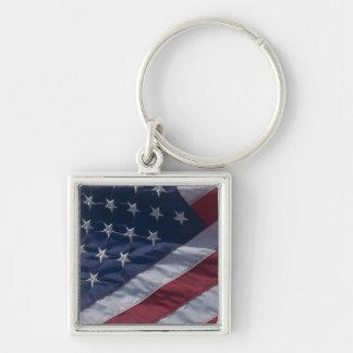 American flag. keychain