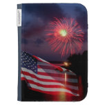 American Flag Kindle Case