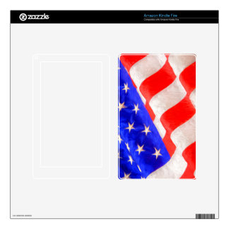 American Flag Kindle Fire Decals For Kindle Fire