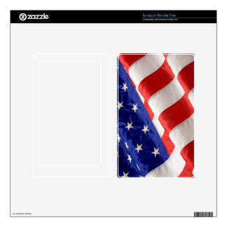 American Flag Kindle Fire Kindle Fire Decal