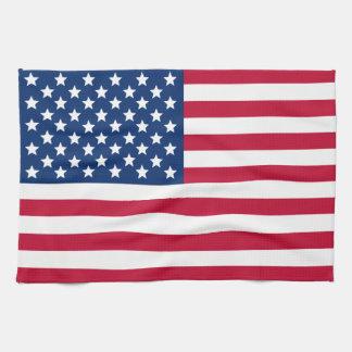 American Flag Towels