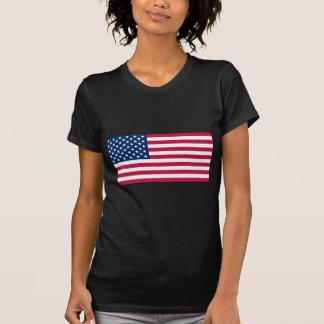 American FlagLadies Petite T-Shirt