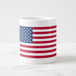 American Flag Large Coffee Mug