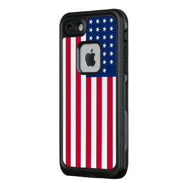 USA Themed American Flag LifeProof FRE iPhone 7 Case