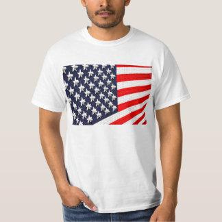 American Flag Light Display T-Shirt