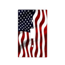 American Flag Light Switch Cover