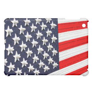 American Flag Lights Display Case For The iPad Mini