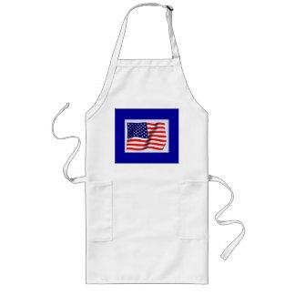 AMERICAN FLAG LONG APRON