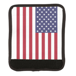 American Flag Luggage Handle Wrap