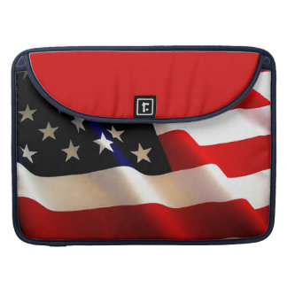 AMERICAN FLAG MAC SLEEVE - GREAT COLORS! SLEEVE FOR MacBook PRO