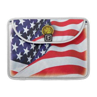 American Flag Sleeve For MacBooks