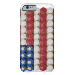 American flag made of cupcakes barely there iPhone 6 case